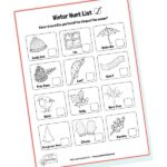 winter hunt checklist