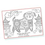 website preview Chinese New Year Mindfulness Dog 1
