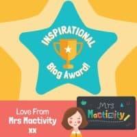 Mrs Mactivity blog award