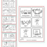 KS1 visual timetable