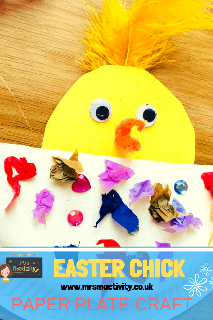 Easter Chick Plate Craft