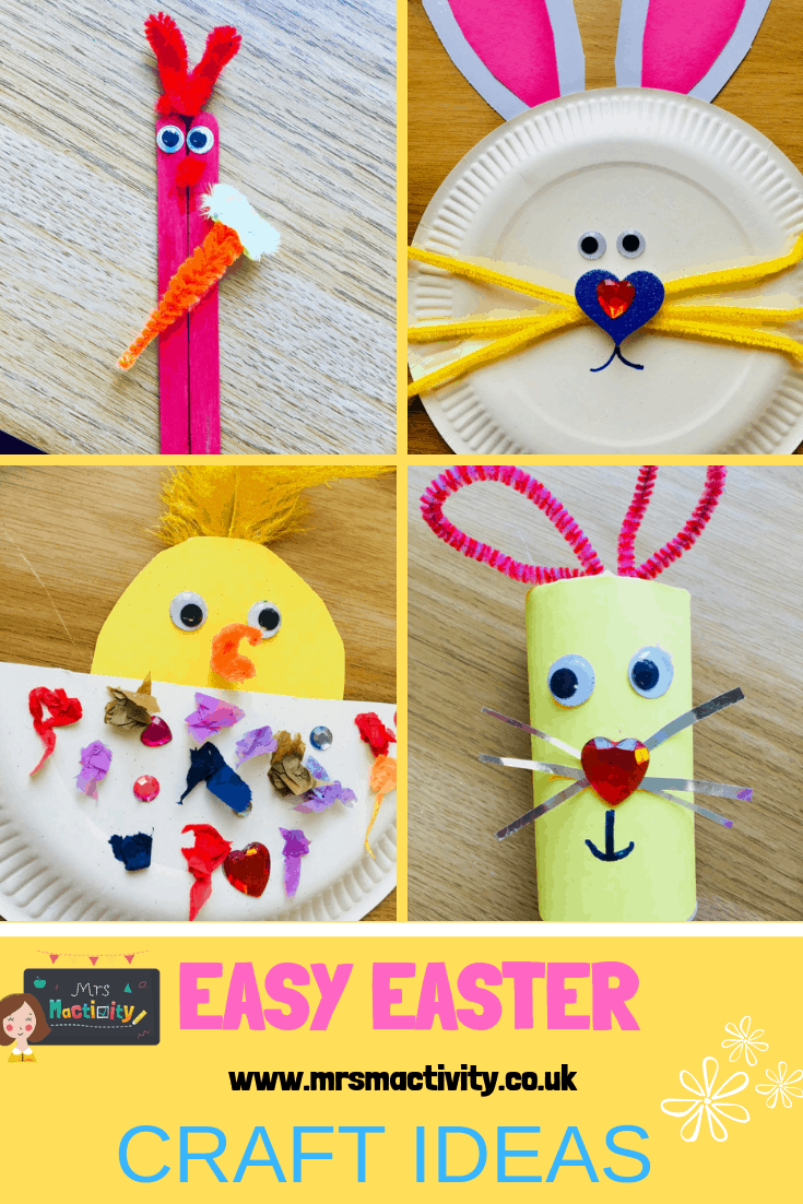 5 Super Easy Easter Craft Ideas!