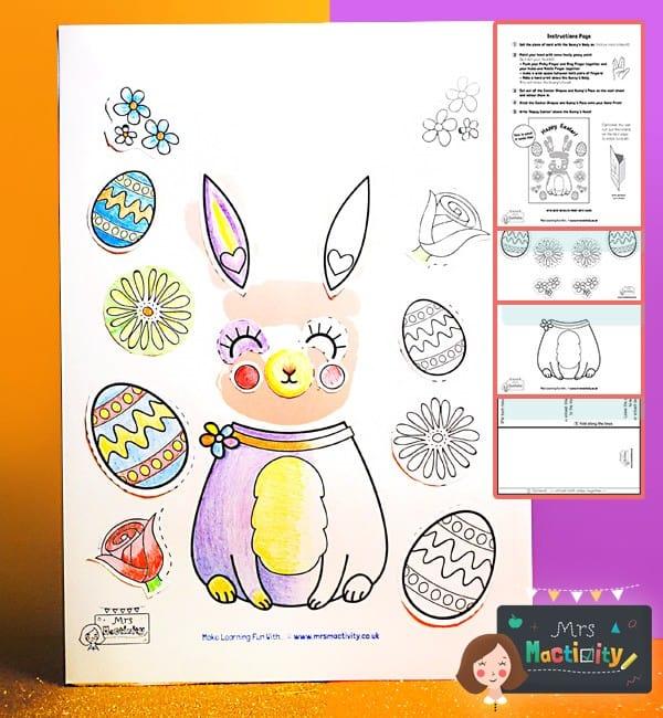 Easter Handprint card craft