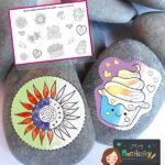 Mother's Day Rock Painting Decals