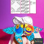 website preview Spring Chatterbox Blank Colouring 1