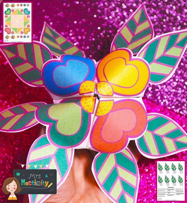 Design Your Own Chatterbox - Full Colour Version