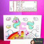Mother's Day Unicorn Handprint Card