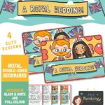 Royal Wedding 2018 Bookmarks - Colour