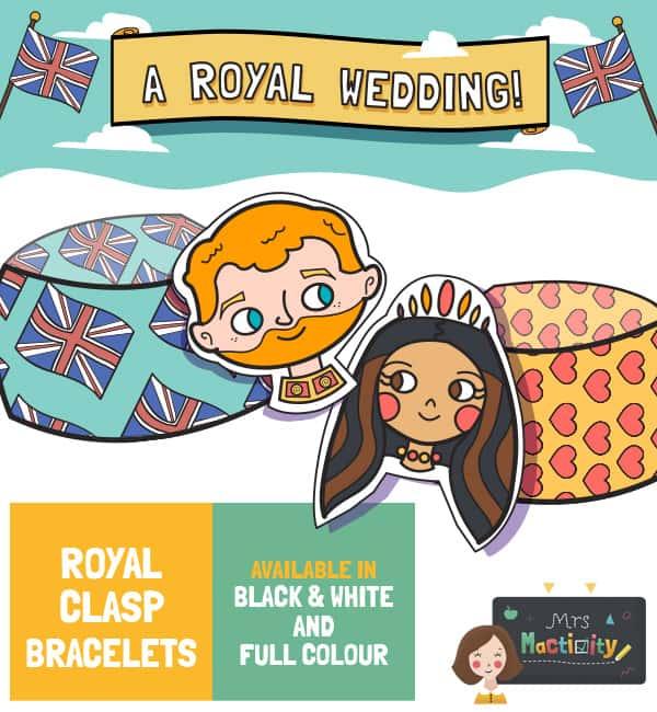 Royal Wedding Craft bracelet