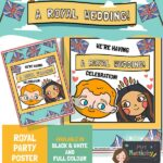 Royal Wedding 2018 Party Poster - Colour