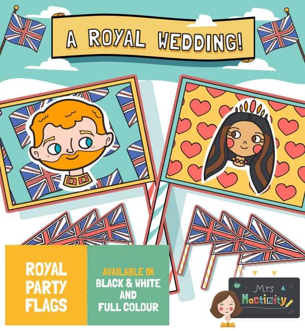 Royal Wedding 2018 Flags - Colour