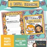 Royal Wedding 2018 Invites - Colour