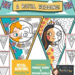 Royal Wedding 2018 Colouring Bunting