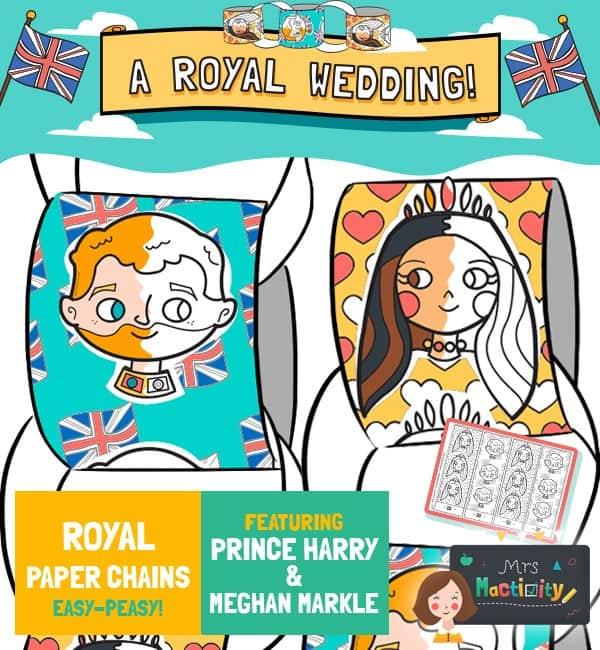 Royal Wedding Paper Chain