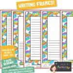 free writing frames