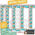 website preview writing frames ROCKETS