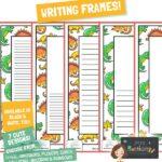 website preview writing frames DINO