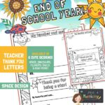 website preview END OF SCHOOL letters SPACE