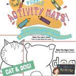 website preview Activity mats CAT DOG