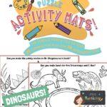 website preview Activity mats DINOSAURS