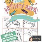 website preview Activity mats FACES