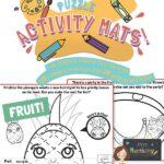 website preview Activity mats FRUIT
