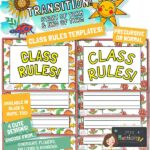 class rules display poster