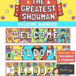 The Greatest Showman Welcome Banners