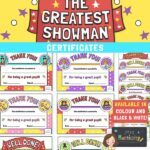 The Greatest Showman Certificates
