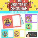 The Greatest Showman Table Group Cards