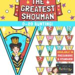 The Greatest Showman 0-20 Bunting