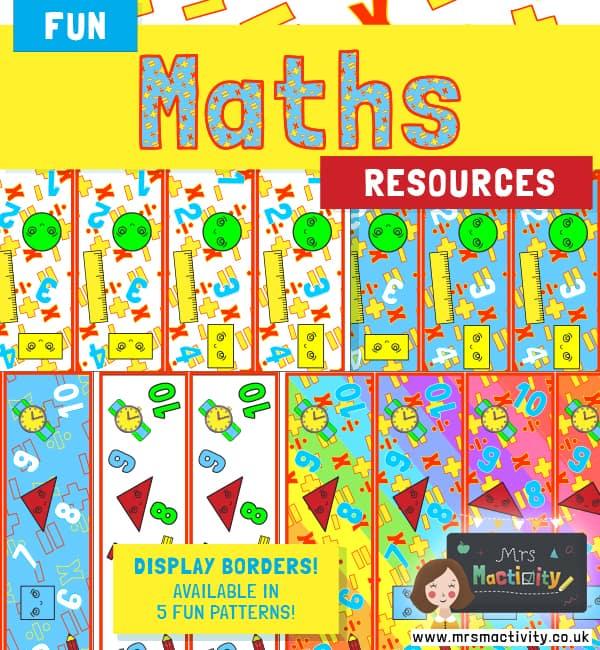 Maths Display Borders