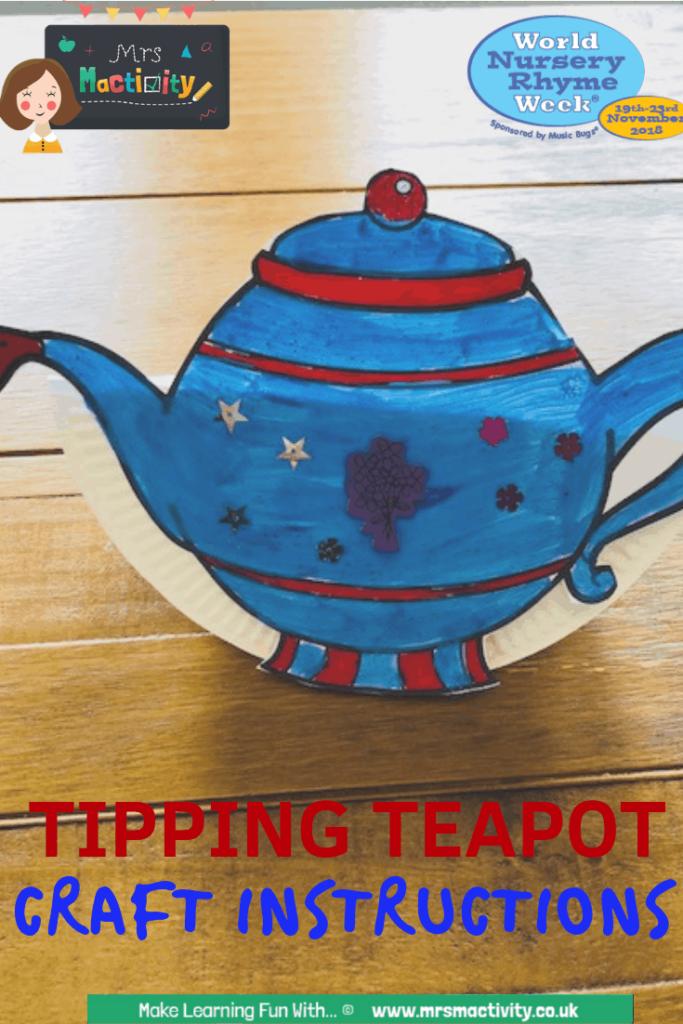Make a tipping teapot craft