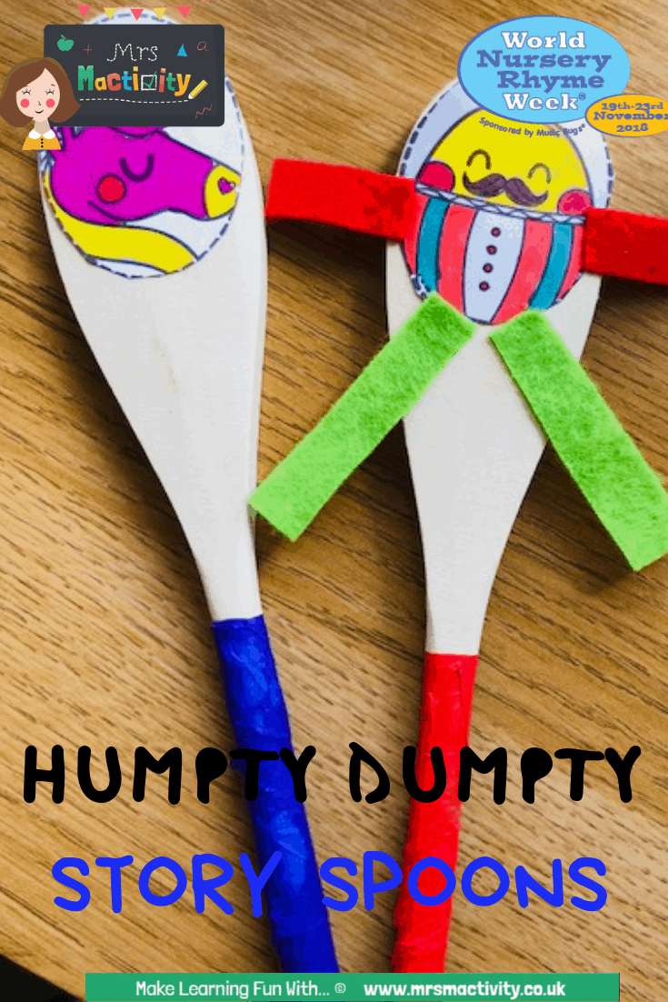 Make Your Own Humpty Story Spoons!