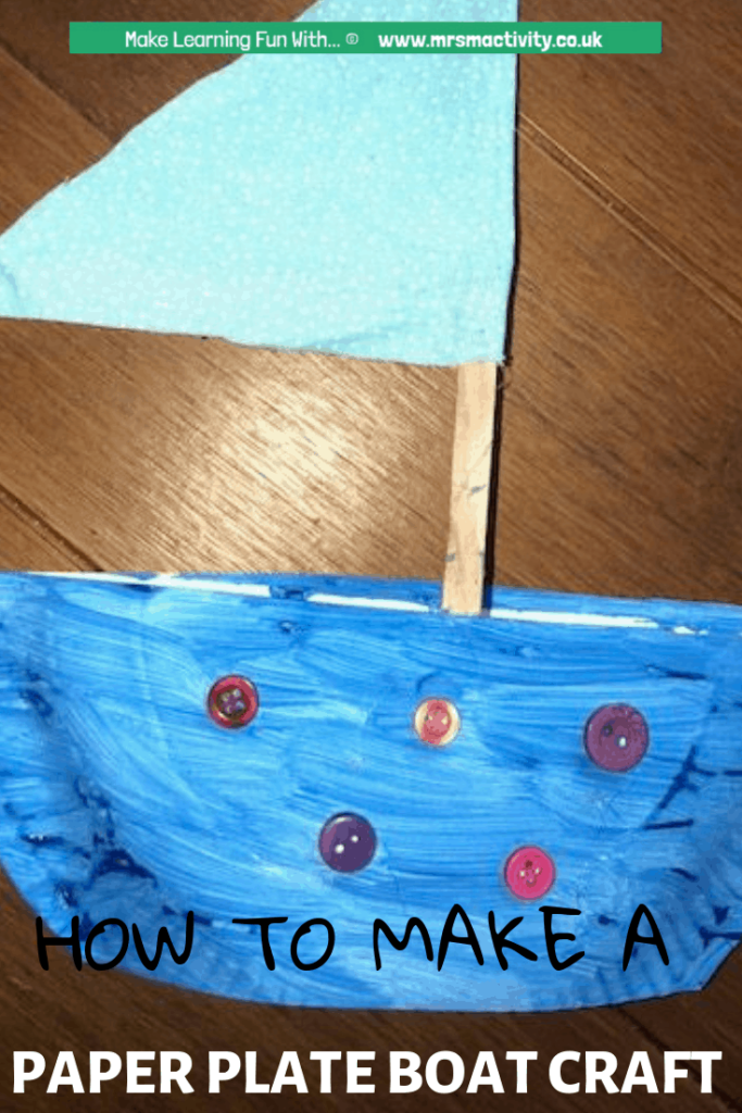 world nursery rhyme week boat craft