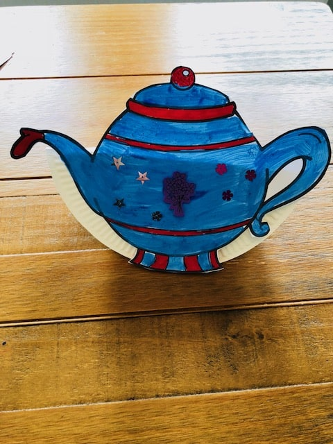 tipping teapot craft,