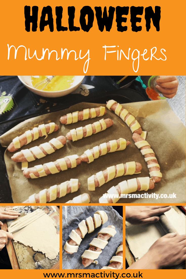 Spooky Mummy Fingers Recipe