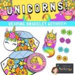 unicorn weave bracelet