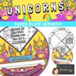 Unicorn Paper Plate Craft Activity