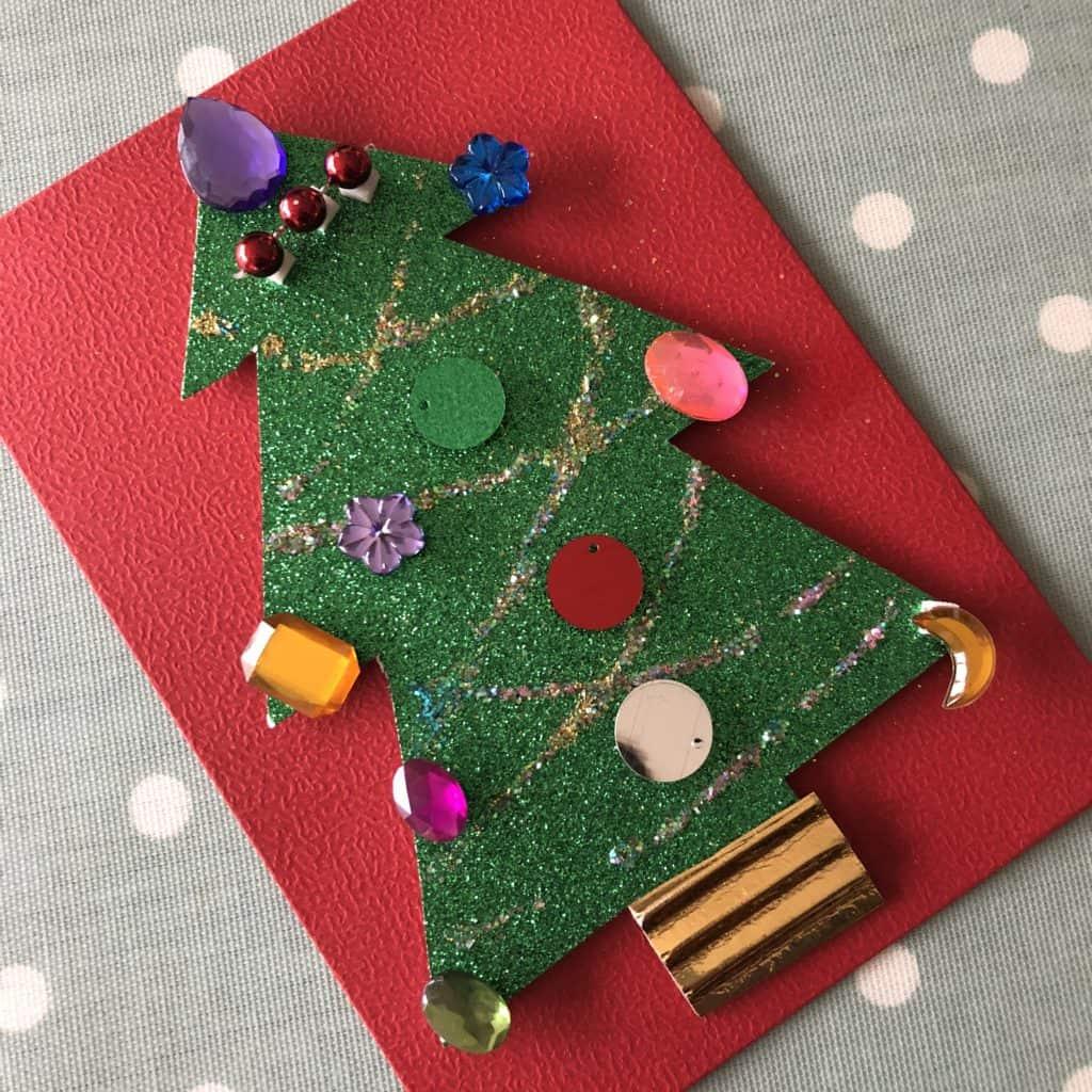 simple handmade christmas card ideas