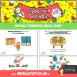 Christmas social story EDITABLE