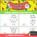 cymraeg christmas card template