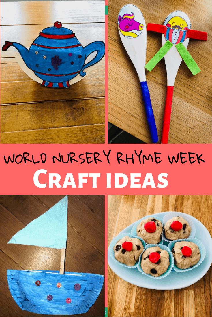 World Nursery Rhyme Week Craft Ideas!