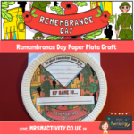 Remembrance day paper plate craft (1)