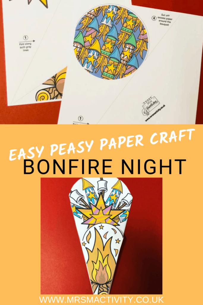 bonfire night paper craft template (1)