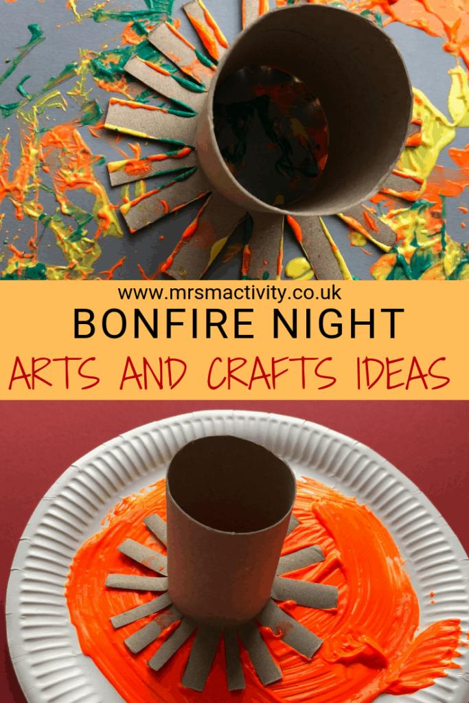 bonfire night arts and crafts ideas