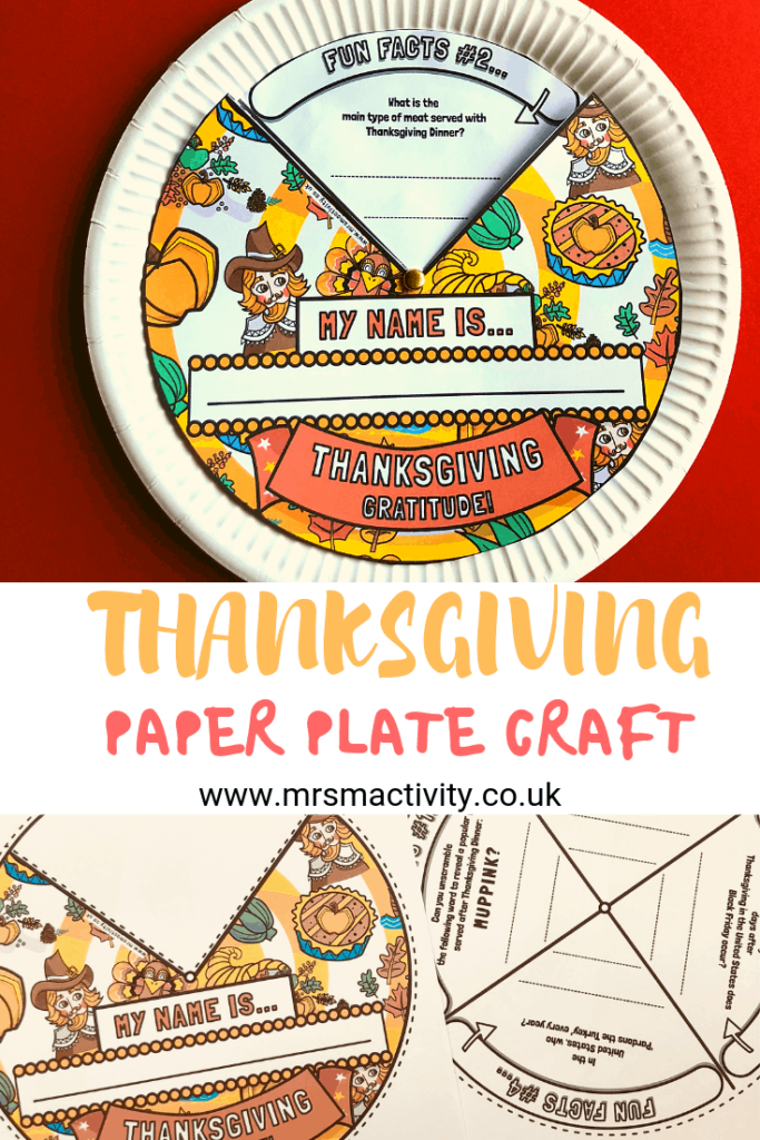 thanksgiving paper plate craft pinterest
