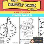 humpty finger puppets
