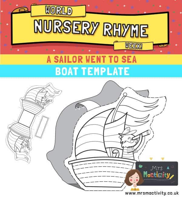 Boat paper craft