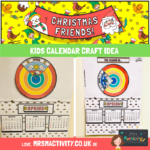 Kids Calendar Craft Idea